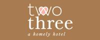 Two Three Hotel Logo